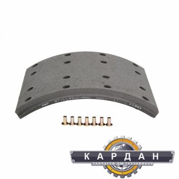 Тормозная накладка с заклепками 07-L19932-N00