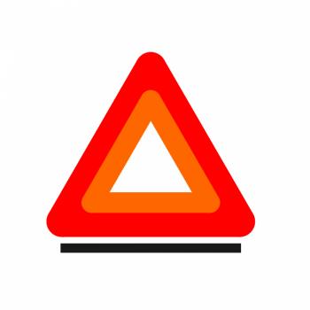 Аварийный знак 27r031004